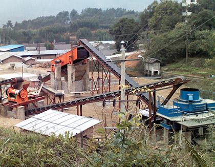 广西柳州制砂生产线