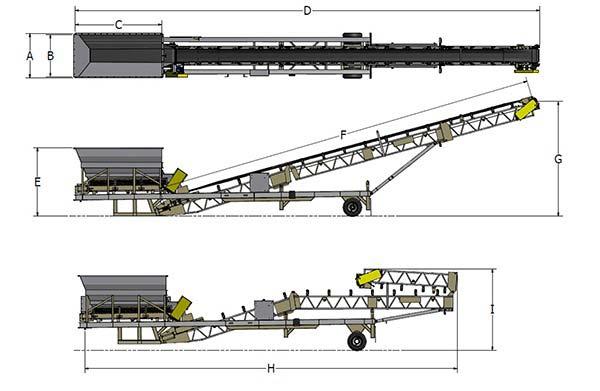 矿山设备皮带机运行原理图