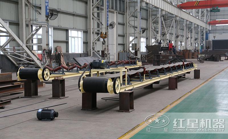 胶带输送机——砂石生产线的必备设备