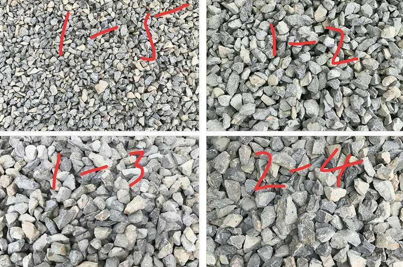 可生产多种规格的砂石