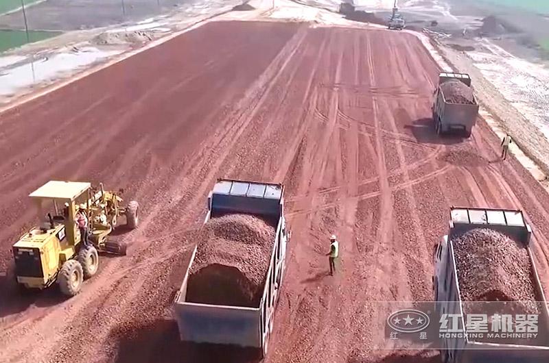 再生砂石骨料用于铺路
