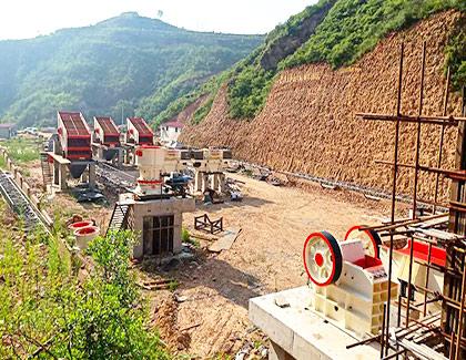 浙江杭州玄武岩破碎生产线