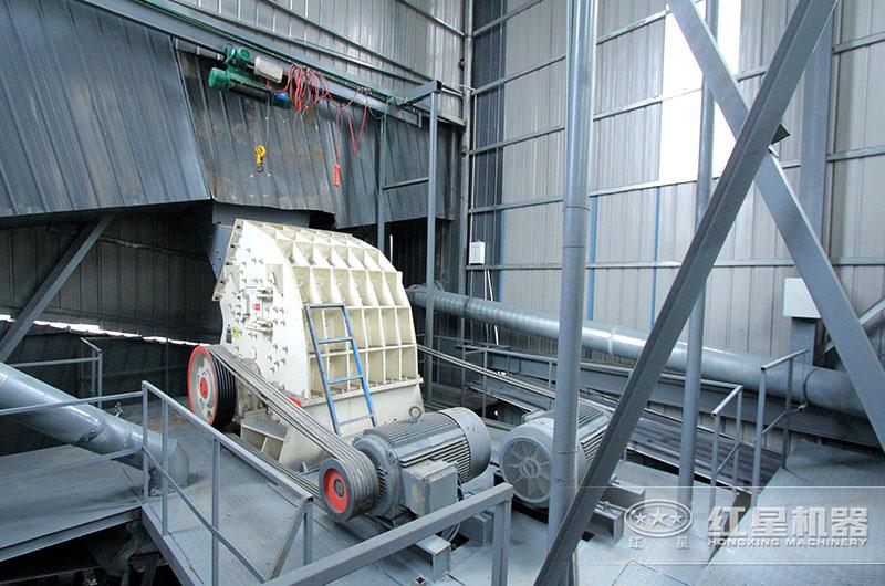 重锤式破碎机在砂石生产线中的应用
